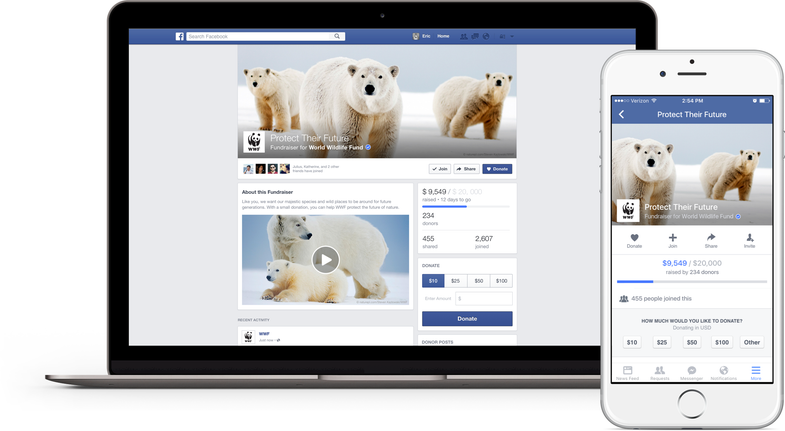 Facebook Just Made It Easier Than Ever To Give To Your Favorite Charity