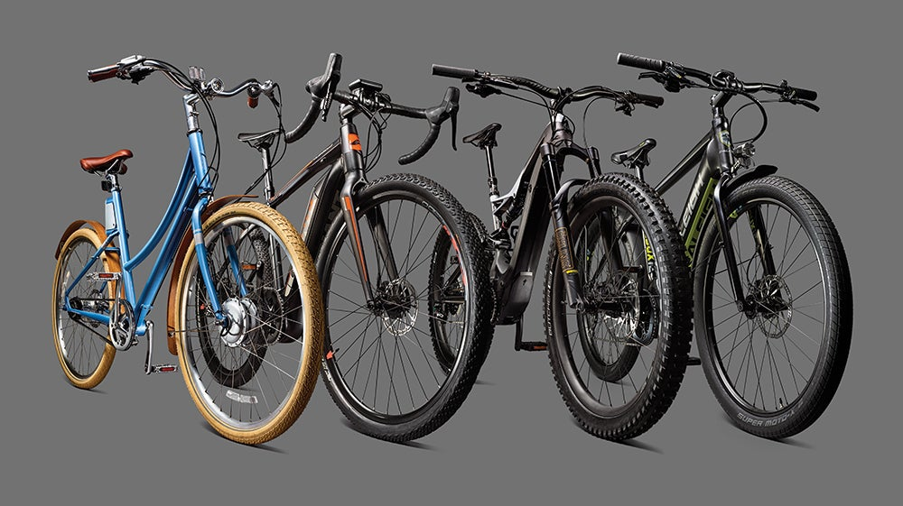 The latest crop of electric bikes is ready to propel you across any terrain