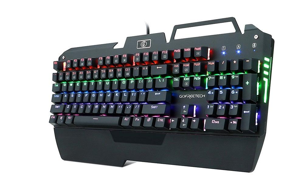 KrBN LED Backlit Gaming Keyboard