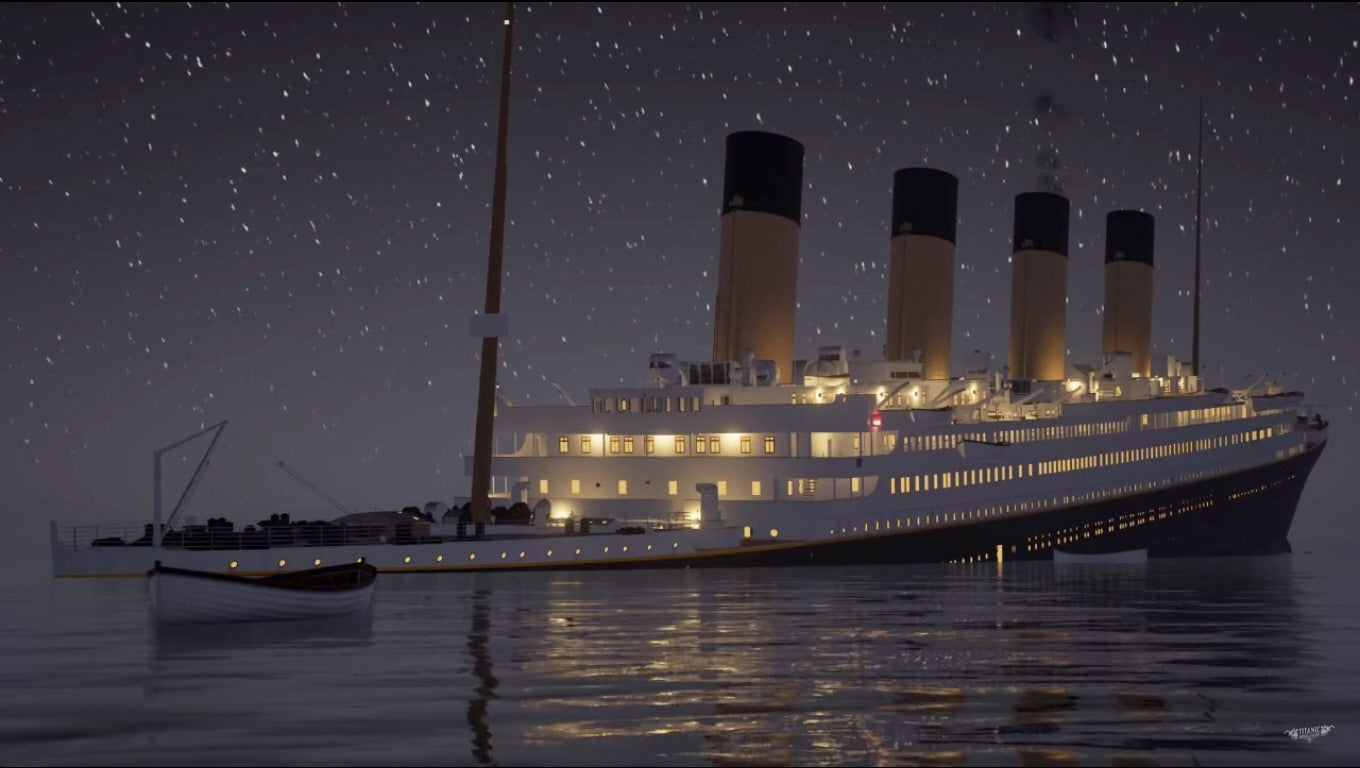 Watch An Animated Titanic Sink In Real Time