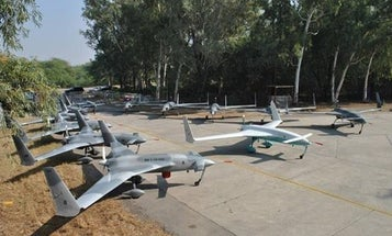 Pakistan's Armed Drone Successfully Test Fires A Laser-Guided Missile