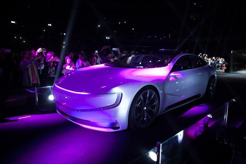 Chinese Tech Giant LeEco Unveils Its Autonomous Electric Car