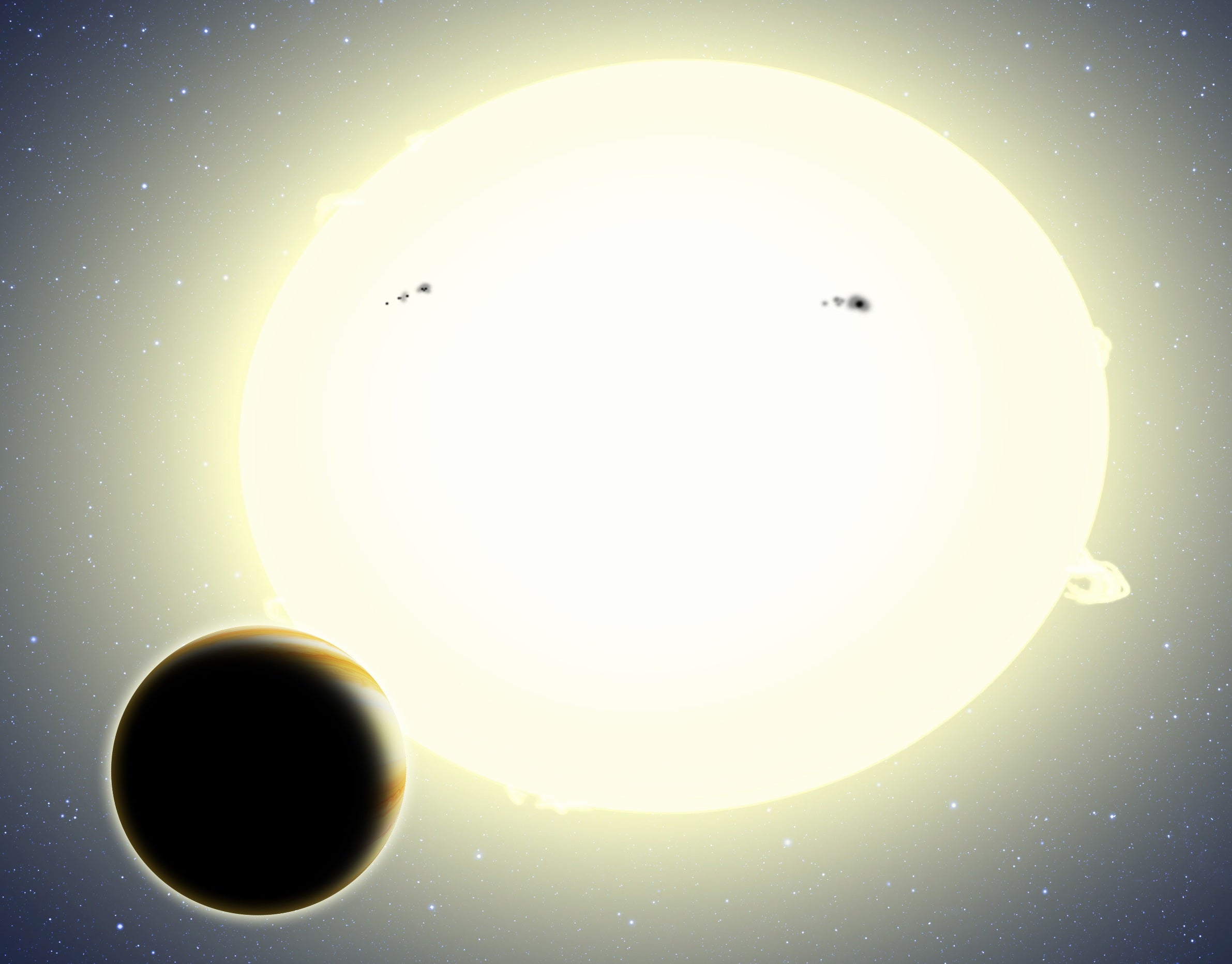 Astronomers Spot A Planet Using Einstein's Theory Of Relativity