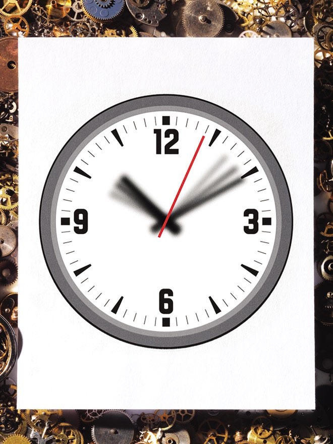 When time seems to stop, blame your over-prepared brains