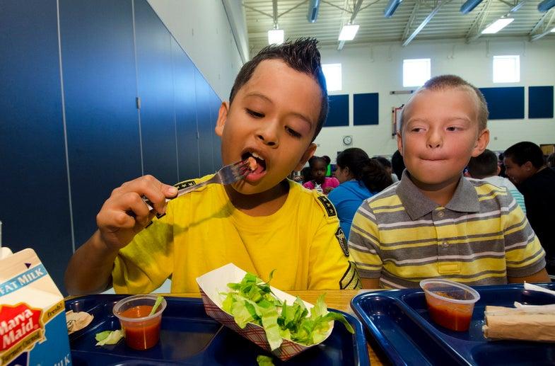 Do Kids Eat More Veggies When Schools Serve Healthier Lunches?