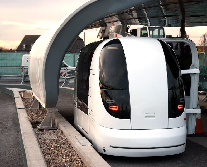 Heathrow Airport Rolls Out 'ULTra' Driverless Transit System