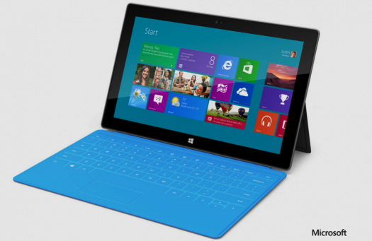 Microsoft Announces Its First Real Tablet: The Surface