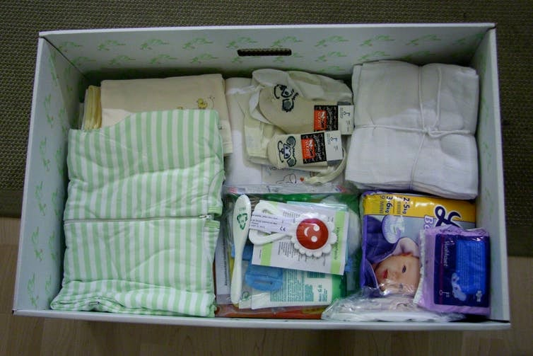 finnish maternity package