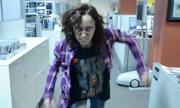 Halloween Zombie Outbreak At Popular Science Office
