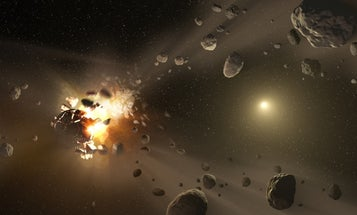 200,000 asteroids trace their origins to just a handful of obliterated parents