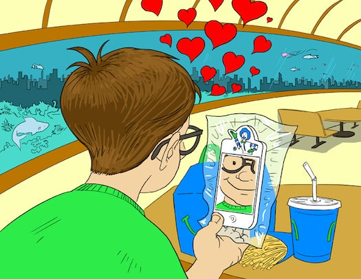 This Week In The Future: McDonald's iPhones Under The Sea