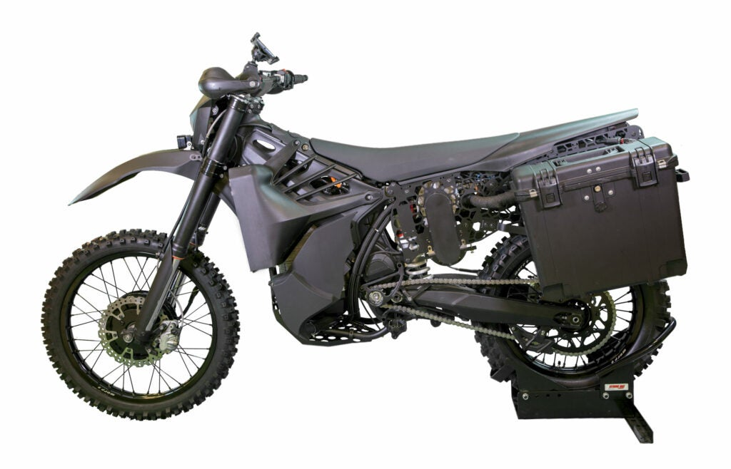 SilentHawk stealth motorcycle