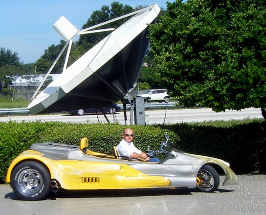 Laid off by NASA, Shuttle Engineers Build a Rocket-Inspired, Street Legal Trike