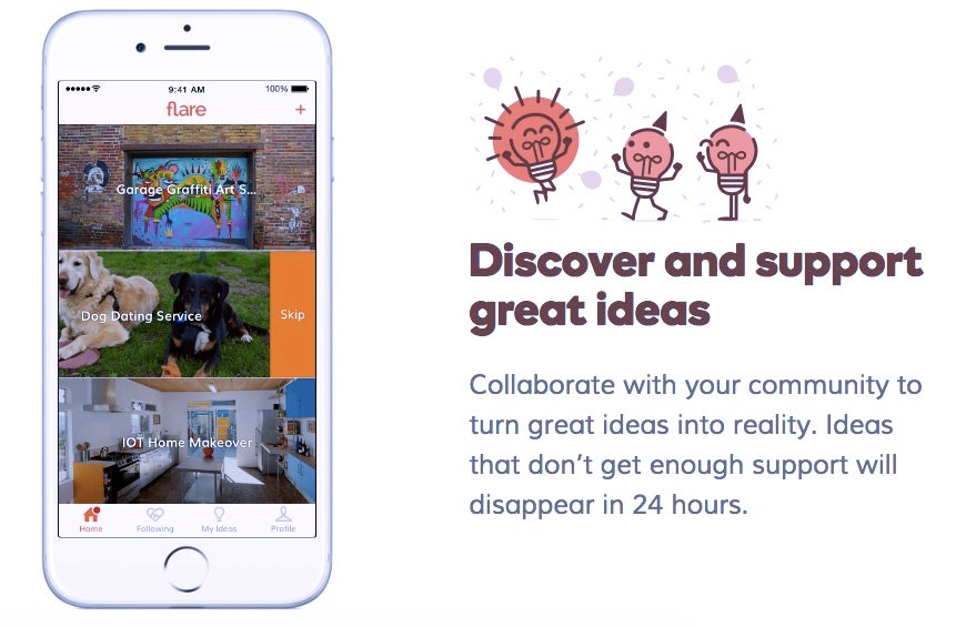 GoDaddy Launched a Tinder for Startups, For Some Reason