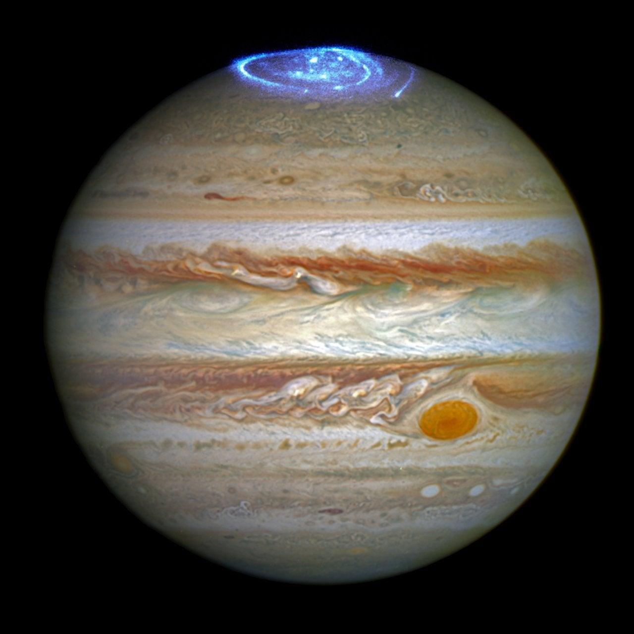 Jupiter's auroras