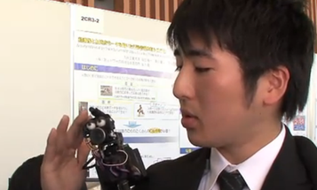 Video: A Shoulder-Mounted, Humanoid Telepresence 'Bot, for Easy Tele-Dating