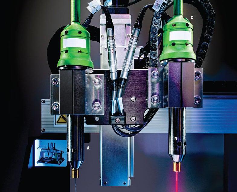 The NovoGen MMX Bioprinter