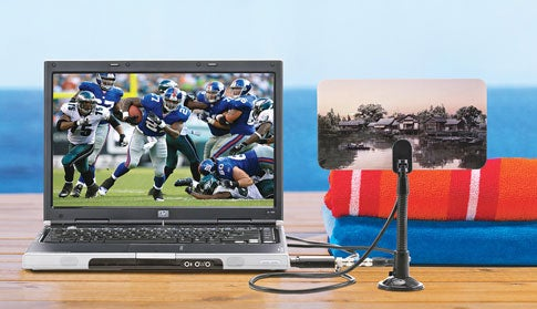 Get HDTV on Your Laptop