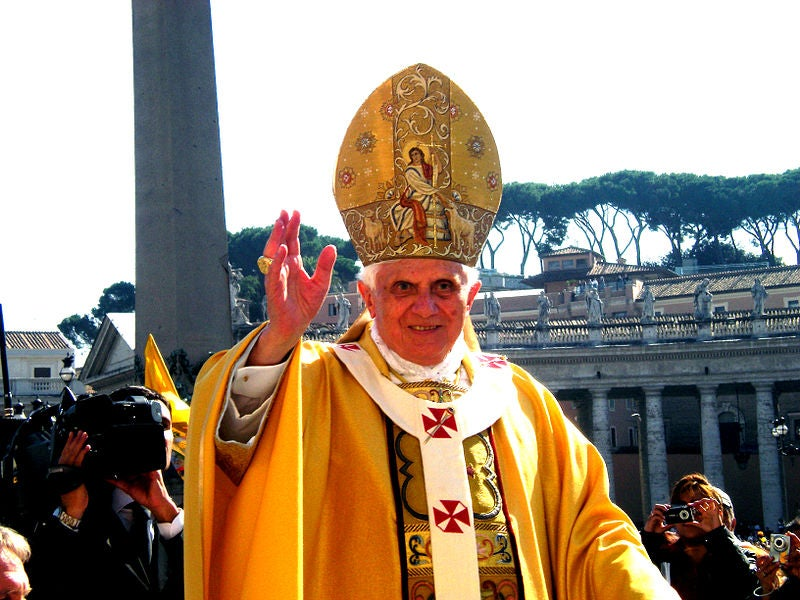 Farewell To Pope Benedict XVI, Supporter Of Twitter, iPad Apps And Genetically Modified Crops