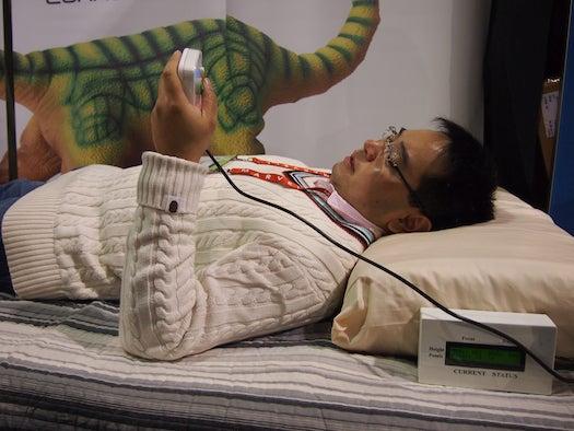 Robotic Pillow Cradles Your Head With Machine Comfort