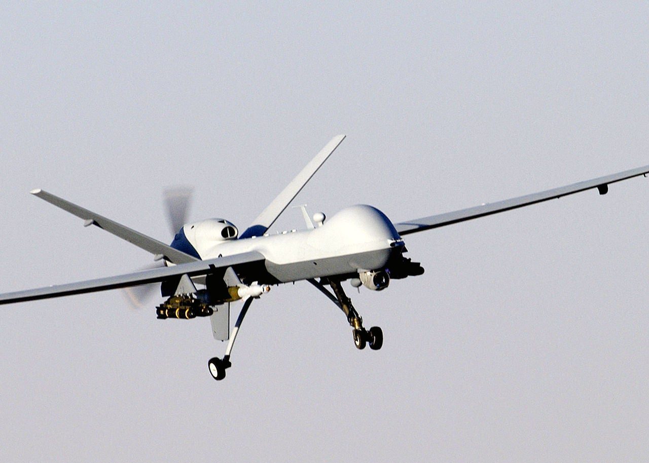 Air Force's Reaper Sinks Boat For First Time