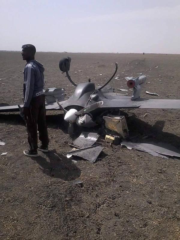 China Nigeria Drone