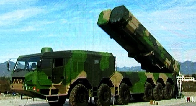 China's New Mystery Missile And Launcher