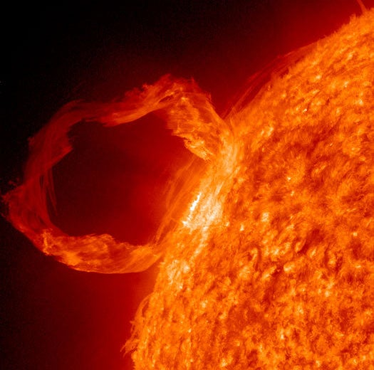 Solar Storm Turns Communication Satellite to an Out-of-Control 'Zombiesat'
