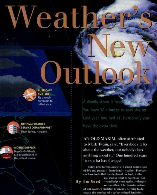Modernizing the National Weather Service, August 1997