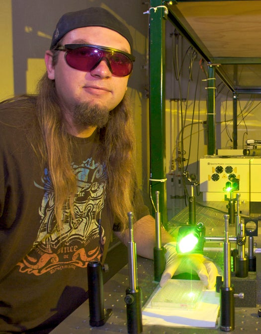 UCSB Scientists Create Cancer-Stopping Nanoparticle-and-Laser Treatment