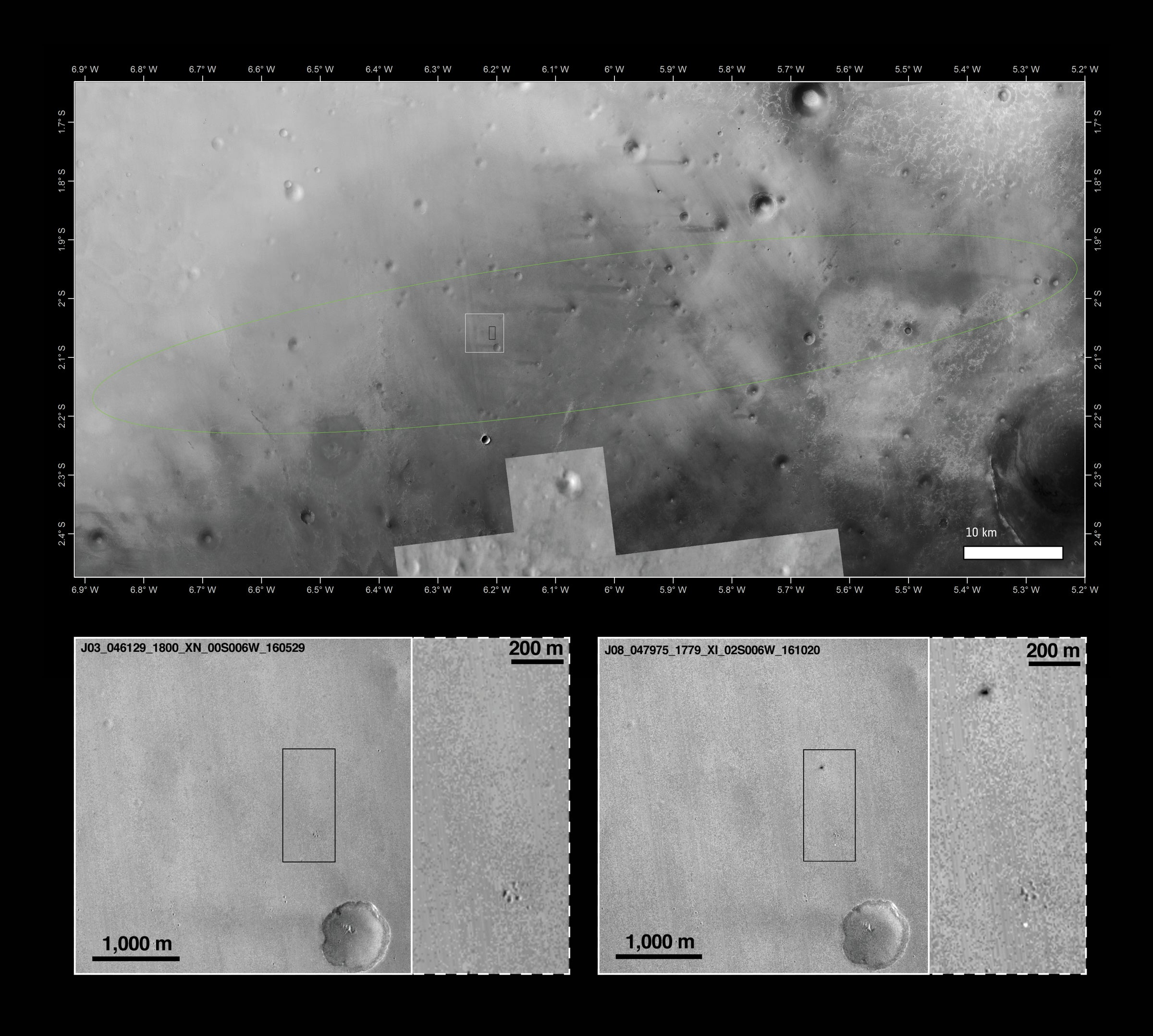 New NASA Photos Show ExoMars Lander May Have Exploded On Impact