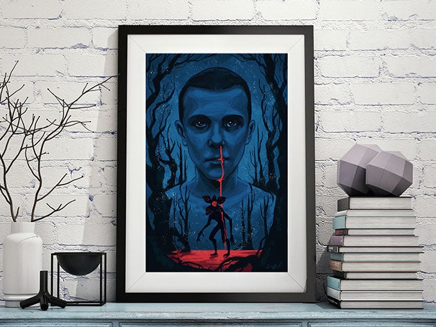 This awesome wall art celebrates the return of Stranger Things