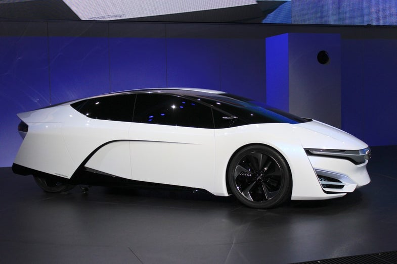 Can Hydrogen Fuel-Cell Vehicles Compete With Electric Cars?