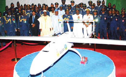 Nigeria Shows Off Its First Drone