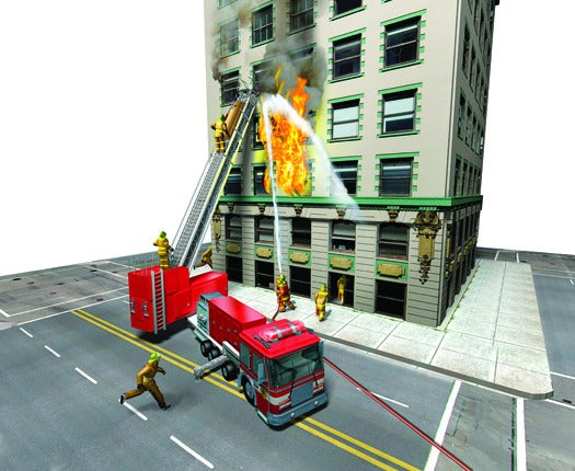 The Easy Way Up: An Escalator for Firemen