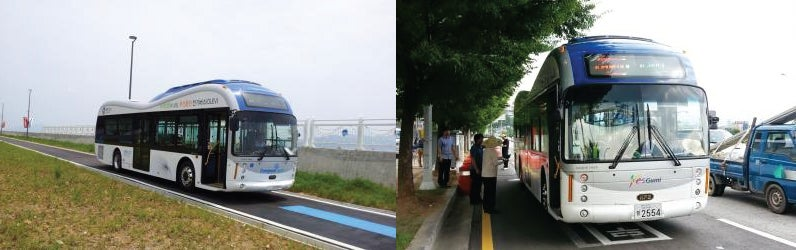 First Inductively Charged City Bus System Now Rolling