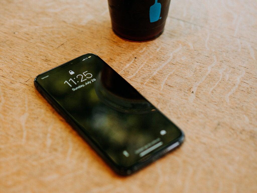 Coffee shop phone