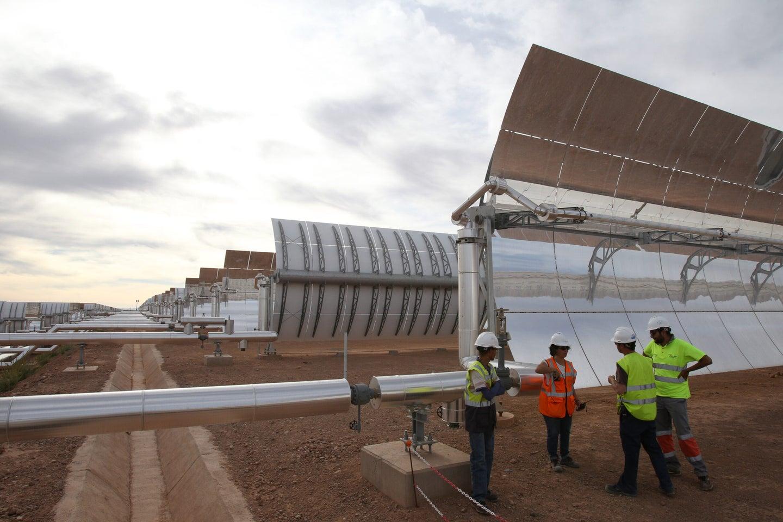 Solar Power Plant In Morocco