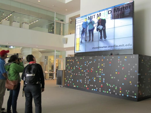 MIT Meter Measures the Mood of Passers-By