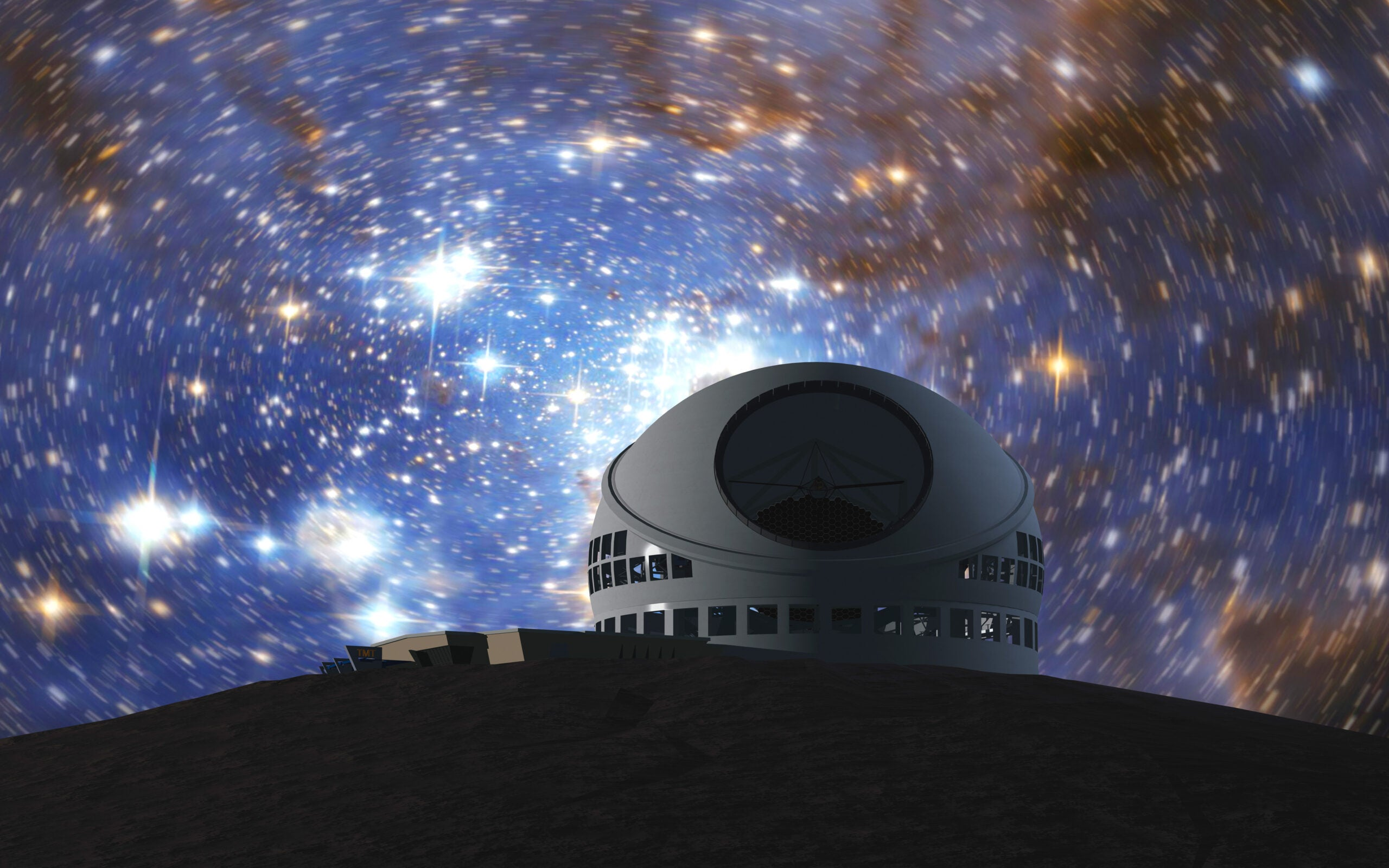 Biggest, Baddest Optical Telescope Finds Home Atop a Hawaiian Volcano