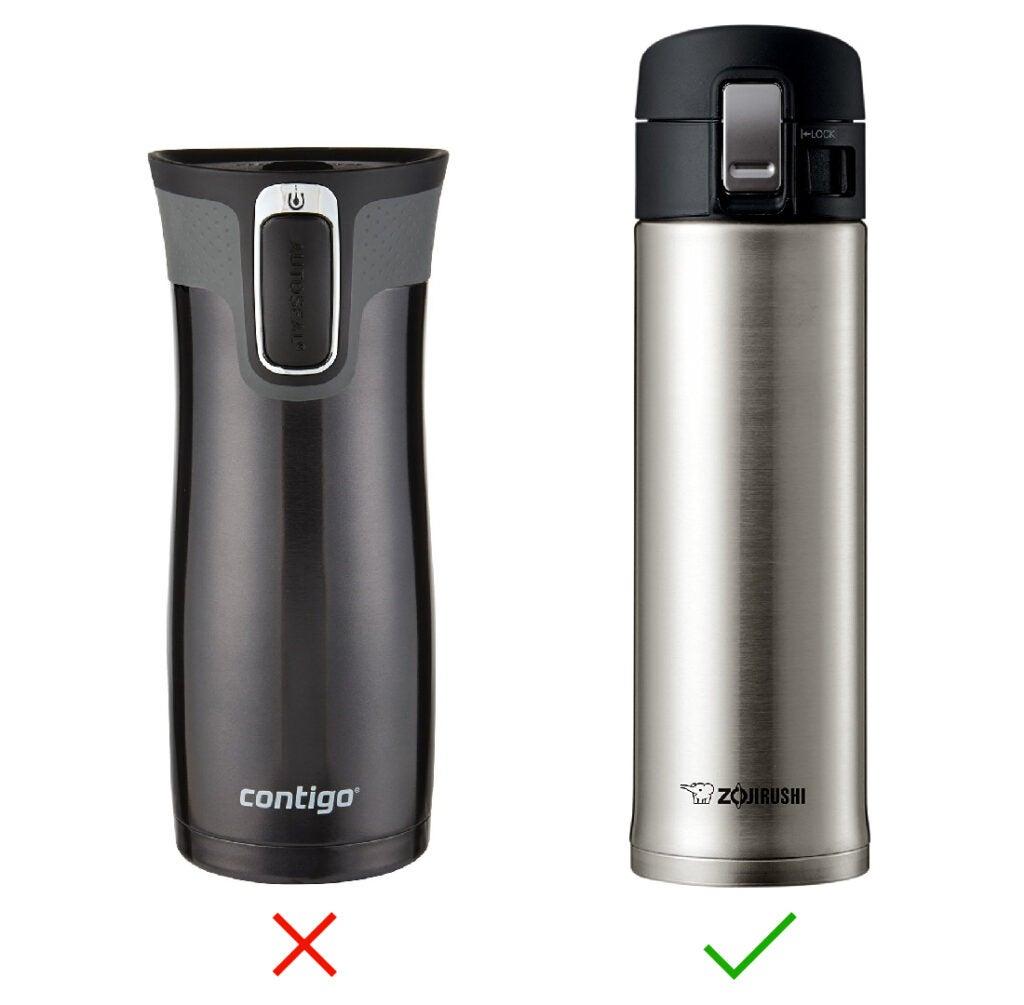 Travel mugs comparison