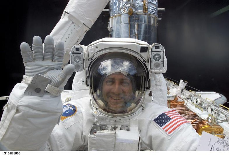 What It's Like To Spacewalk For The First Time