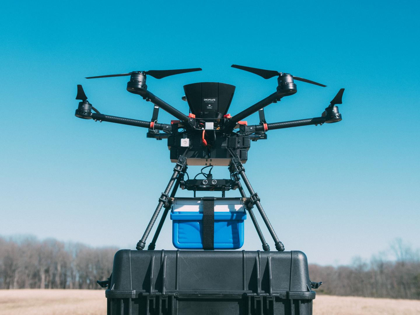 Good news: It's safe to use drones to fly blood around