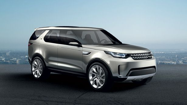 Land Rover's New Concept SUV Doesn't Have Door Handles