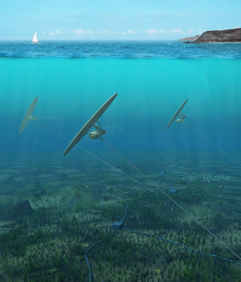 """Video: """"Sea Kites"""" Could Harness Tidal Energy For Future Power Plants"""