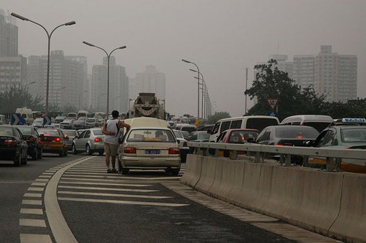 What Beijing's 62-Mile, Nine-Day Traffic Jam Means For China's Turbulent Future of the Car