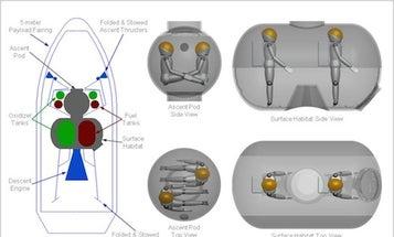 A 'Pumpkin' Pod For Flying To The Moon Like A Princess