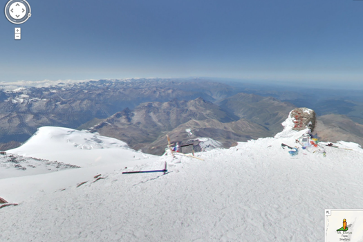 Google Maps Adds Views From Mt. Everest, Kilimanjaro, And More Famous Peaks