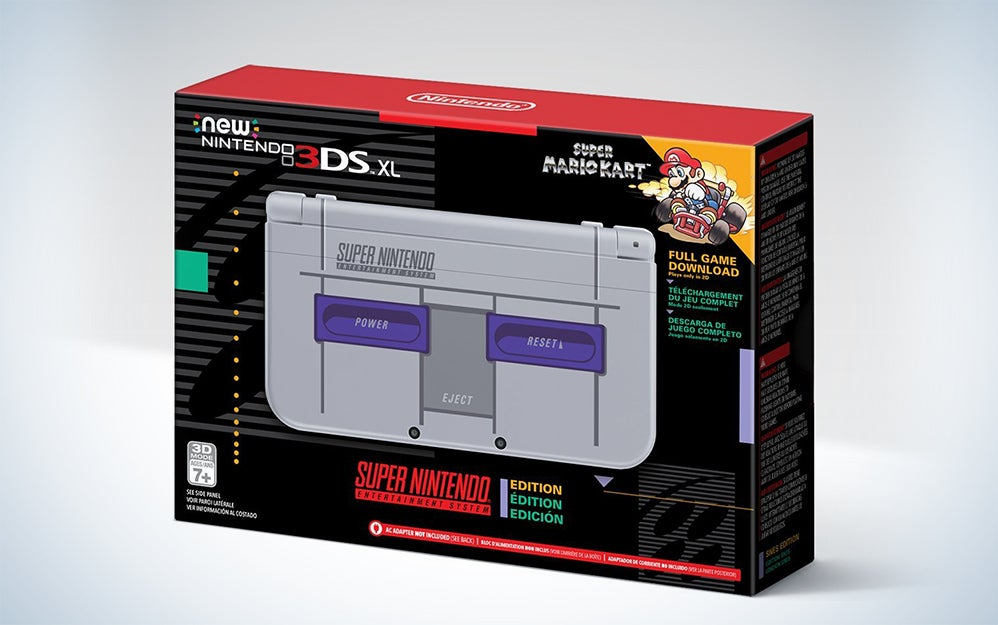 Super NES Nintendo 3DS XL