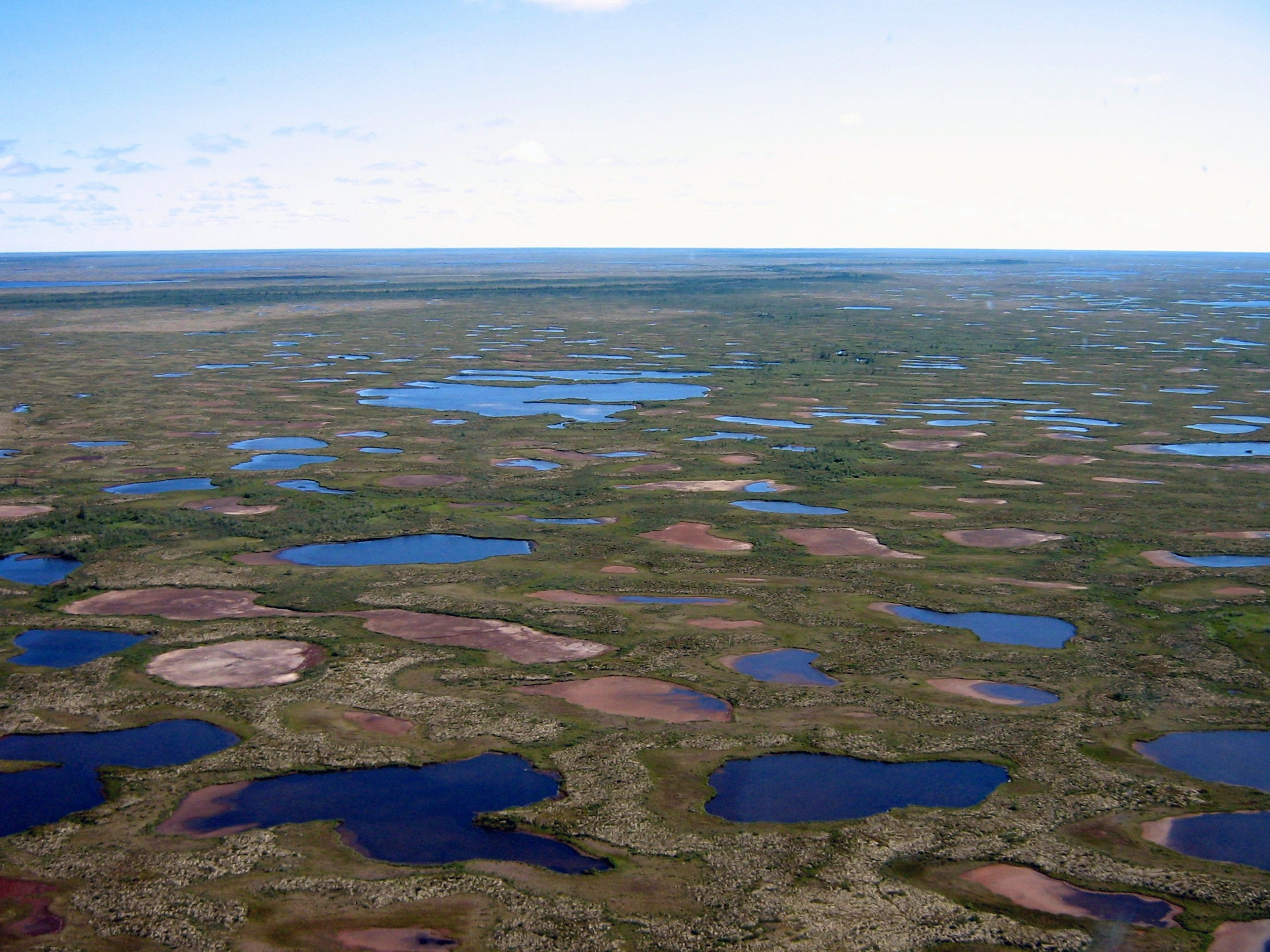 Big Pic: The Subarctic Lakes Of Canada Are Drying Up